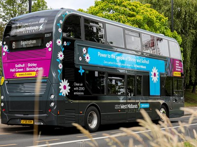 She's electric – National Express launches zero-emission future