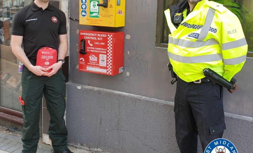 First bleed control cabinet launches with West Midlands Police support