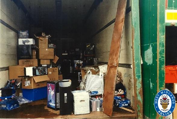 Huge haul of stolen goods recovered by WMP
