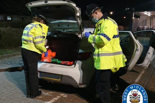 11 cars seized, nine stop searches and one foot chase in busy day of proactive roads policing