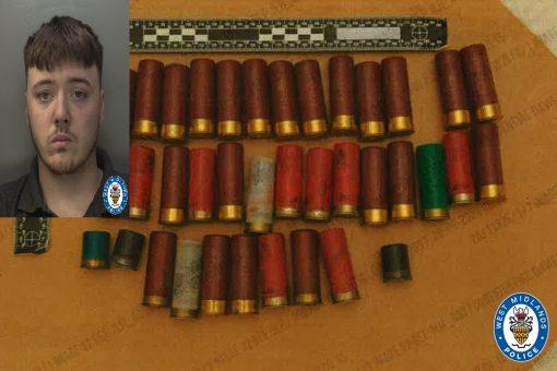 Teen jailed after sawn-off shotgun and ammunition seized