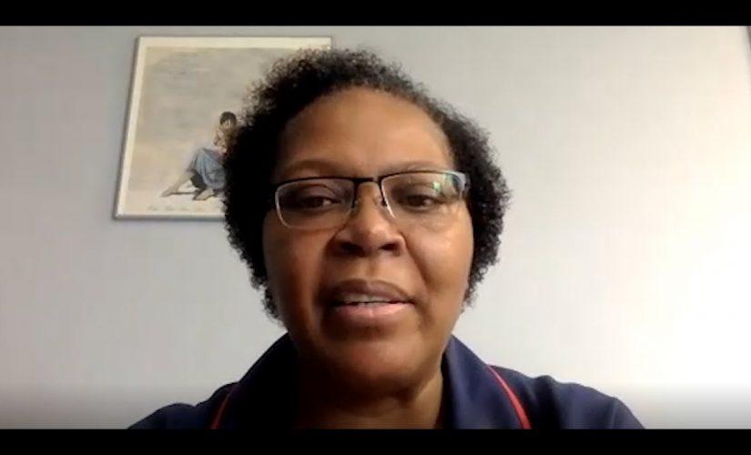 Birmingham matron reads moving poem to encourage vaccine uptake