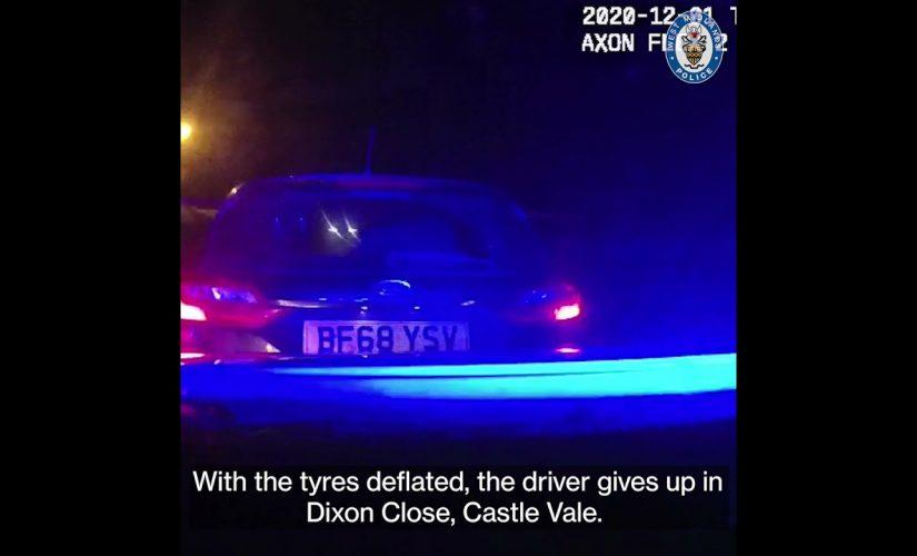 Burglars arrested following pursuit – latest success for car crime operation