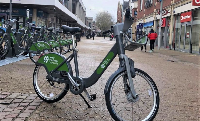 West Midlands Cycle Hire scheme hits the streets of Sutton Coldfield