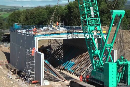 New video gives insight into scale of M6 bridge works