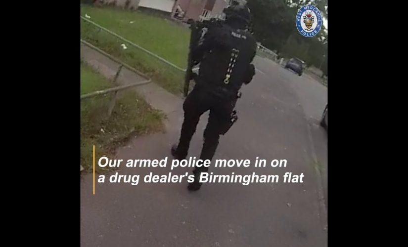 Surprise! Drug dealers open door to our armed cops
